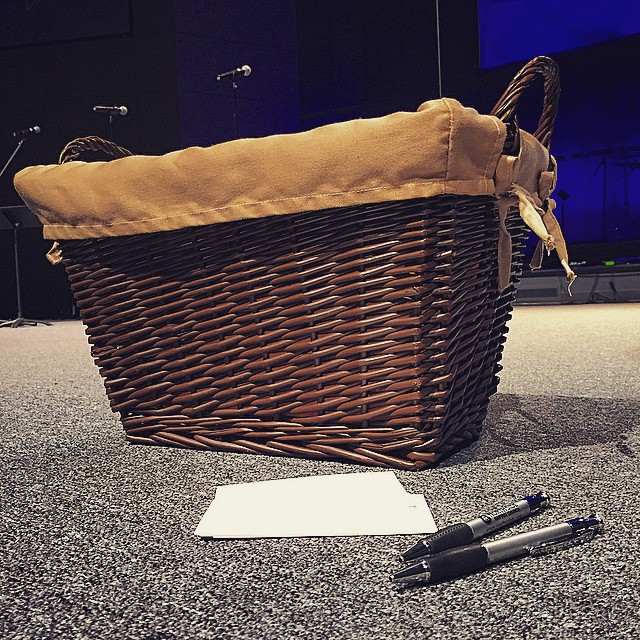 We will have teams praying over your requests during the services this morning (Eph. 6:18). You are not alone!